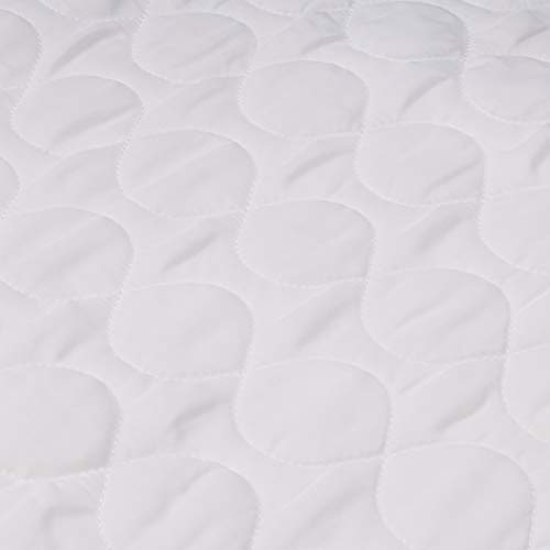 Linenspa 34 x 52 Non Skid Waterproof Sheet Protector with Highly Absorbent Fill Layer and Soft Cotton Blend Cover