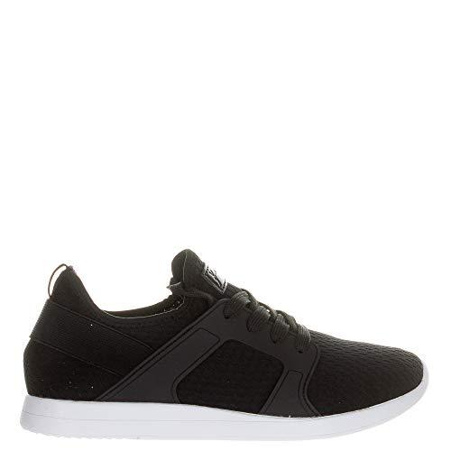 KENDALL + KYLIE Women's Jax-A Sneaker Black/Black/Glitter Size 7