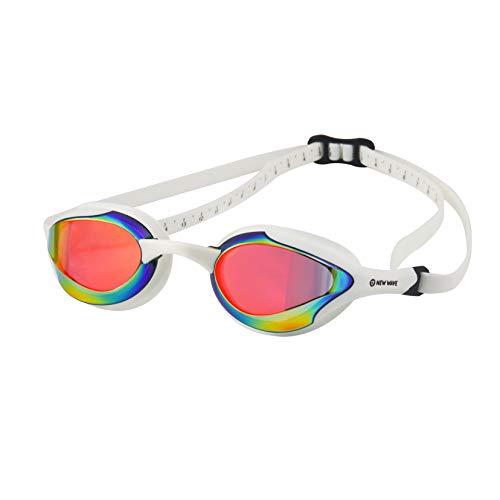 Nueva Ola Fusion gafas de natación, Molten Pearl = Revo Lens in White Frame