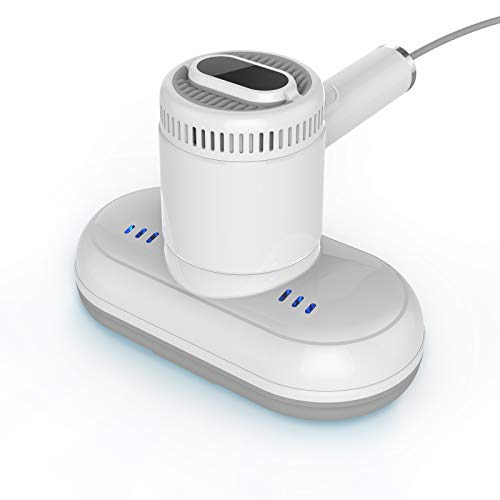 Bed Vacuum Cleaner UV Sanitizing HEPA Allergen Vacuum w/Beating,Rotating Handheld Vacuum w/350w...