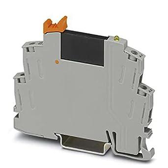 PHOENIX CONTACT RIF-0-OSC-24DC/230AC/1 - Módulo de relé de estado sólido premontado con rosca de 24-253 V CA/0,75 A, 10 unidades