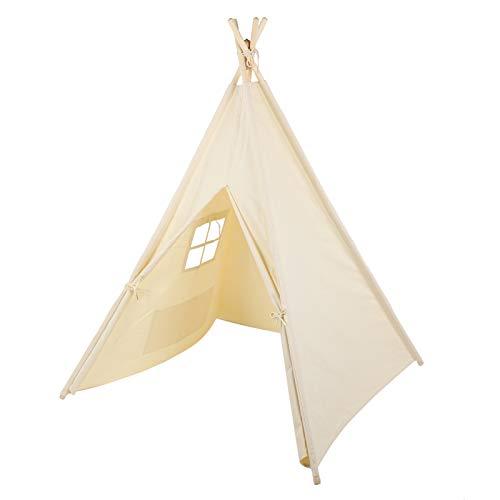 Wakects - Tienda de campaña portátil para niños, con 1 puerta y 1 ventana, apta para cualquier espacio o casa para niños, 1,4 x 1,2 x 1,6 m