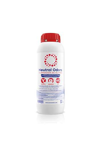 NEUTRAL ODORS - Eliminador de Olores de Bajantes (tuberías, cañerías, baños, sumideros) - 1 Litro