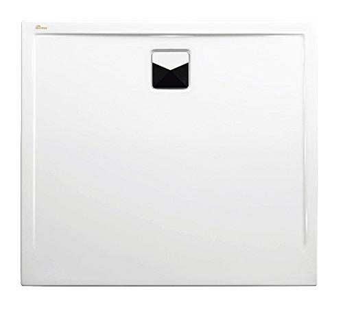 Polypex 47621 Duschwanne Plano 100/90, Weiß