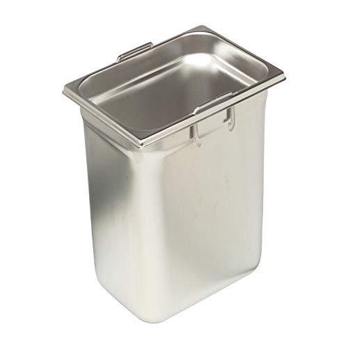 RIEBER GN-Behälter1/6 18/10 Edelstahl, Tiefe: 200 mm, Inhalt: 2,80 Liter