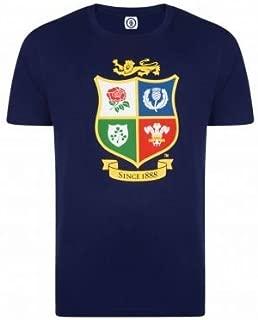 Official British & Irish Lions Rugby Crest Zealand 2017 Tour T-Shirt