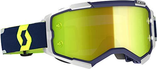 Scott Fury MX Works - Gafas de ciclismo, color azul, gris y...