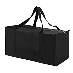 Augbunny Extra Large Lightweight Waterproof Storage Bags Moving Bag Totes Space Saver Travel Duffel Bags Laundry Bag Closet Storage Organizer