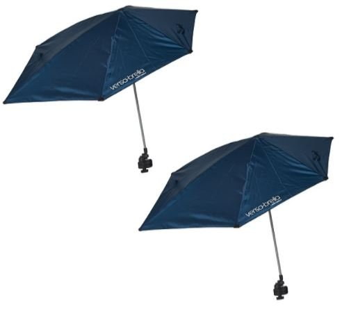 Sport-Brella Versa-Brella All-Position Umbrellas with Universal clamp (Set of 2) (Midnight Blue)