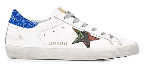 Gouden Gans Trainers Sneakers Niet-slip Mens Super Star Casual Wandelschoenen