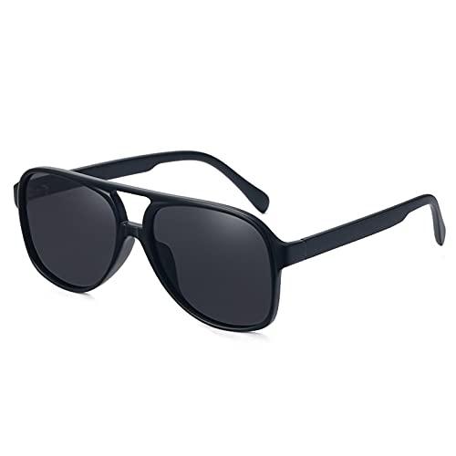 YOJUED Gafas de sol estilo aviador, retro, color amarillo gradiente, vintage, tintadas, para hombre y mujer, color, talla Einheitsgröße