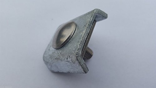 5x Gittermattenverbinder Mattenverbinder Eckverbinder Zaun Matteneckverbinder zink