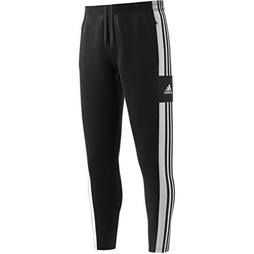 adidas GK9545 SQ21 TR PNT Sport Trousers Mens Black/White L
