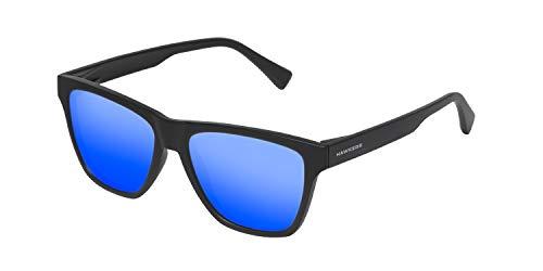 HAWKERS · ONE LS · Rubber Black · Sky · Gafas de sol para hombre y mujer