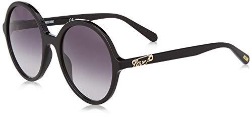 Love Moschino Damen MOL004/S Sonnenbrille, Schwarz (Black), 54