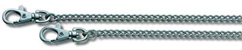 Victorinox 4.1815.80 V41815.80 Chaîne métallique pour couteau de poche 800mm nickelée, Argent