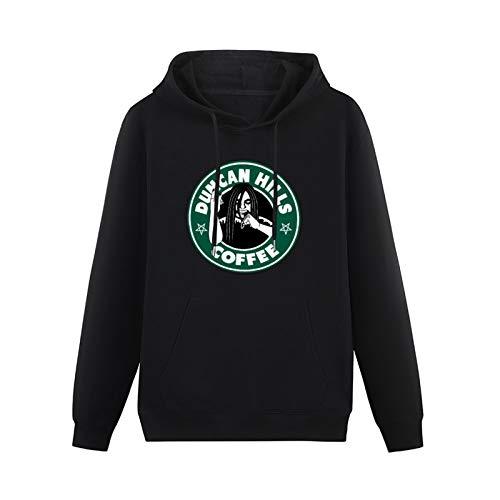 Cool Sweaters for Teenagers Dethklok Metalocalypse Duncan Hills Coffee Logo Hip-hop Pullovers Black XS