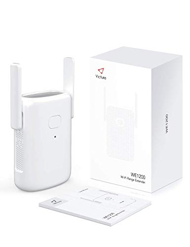 Victure Dual Band WiFi Range Extender, WiFi Repeater, WiFi Booster, AP, 2.4GHz