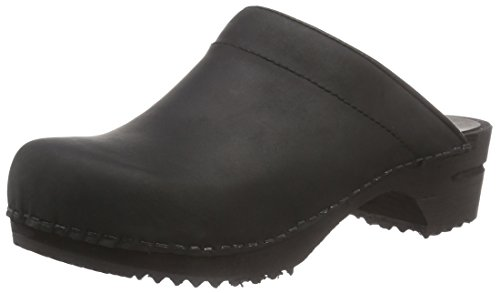 Sanita Christian open, Herren Clogs, Schwarz (Black 2), 48 EU