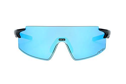 Nrc Occhiale P-Ride, Azzurro Opaco/Nero Unisex Adulto, Multicolore, Taglia unica