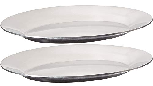 Winco APL-11 Aluminum Sizzling Platter, 11-Inch by Winco