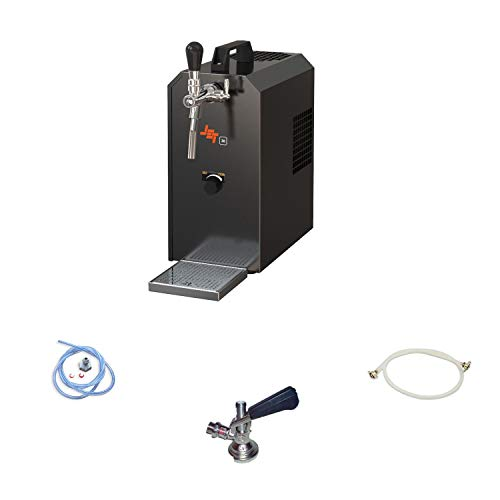 ich-zapfe Set Completo: dispensador de Cerveza con compresor de Aire - Jet 30K, 1 línea, 30 litros/h, KEG:sin
