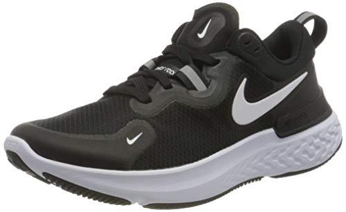 Nike Womens WMNS React Miler Running Shoe, Black/White-Dark Grey-Anthracite,41 EU