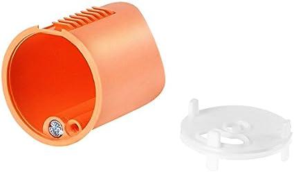f-tronic Hohlwand-Auslassdose, D=35mm, 45mm tief, inkl. Deckel, E134, Inhalt: 25, Stück