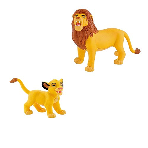 Bullyland - 2\'er Spiel Set - Der König der Löwen - Simba