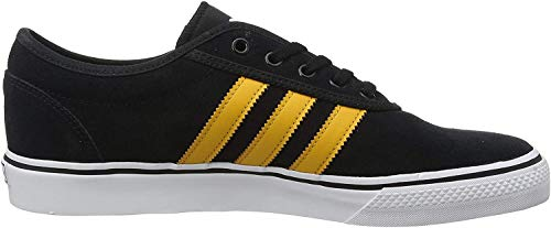 adidas Unisex-Erwachsene Adi-ease Sneaker, Schwarz(Core Black/Tactile Yellow/Footwear White), 48 EU