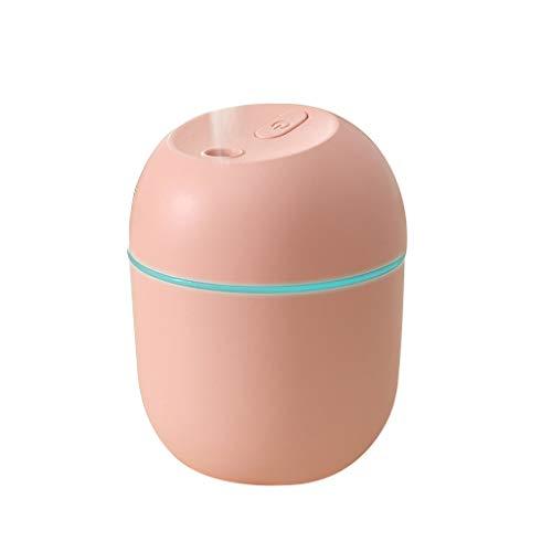 Eldori 加湿器 卓上 大容量 アロマ対応 超音波式 USB 大容量220ml LEDライト付き静か 空気浄化機 持ち運び便利オフィス子供部屋 車載 家庭用乾燥空焚き防止