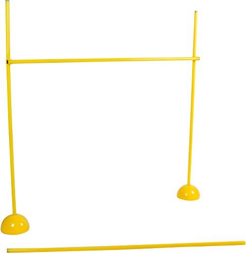 Agility Soccer Training Adjustable Hurdles Poles Set by Trademark Innovations