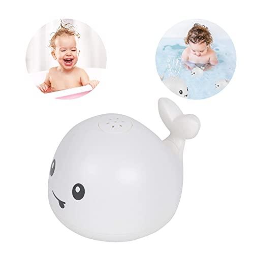Sunshine smile Baby Badespielzeug Wasserspielzeug,Pool Wassersprühspielzeug,Sprinkler Badespielzeug,Kinder Schwimmende 2 in 1,Kinder Wasser Dusche (107A-Weiß)