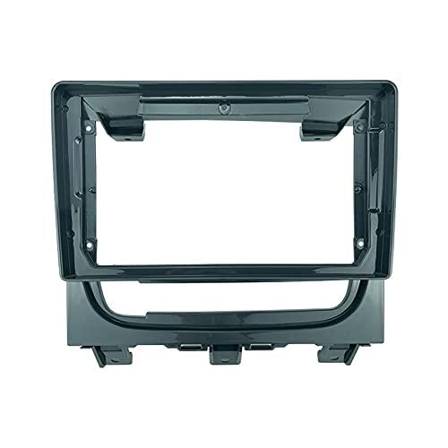 You You 2 Din 2012-2019 - Marco de panel de plástico para radio de coche para Fiat Strada 2012-2019 (nombre del color: solo marco)