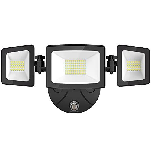 Onforu 50W LED Dusk to Dawn Security Lights, 5000LM Exterior Flood...