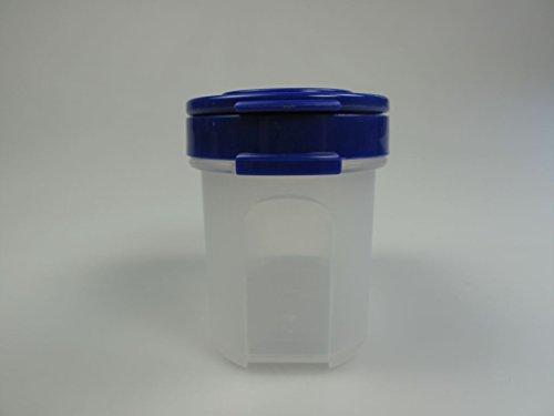 TUPPERWARE Gewürz-Zwerg 120ml blau Gewürz Behälter Gewürzbehälter klein