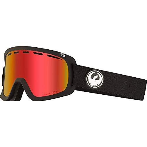 Dragon Herren Schneebrille D1 OTG Black (+Bonus Lens) Goggle