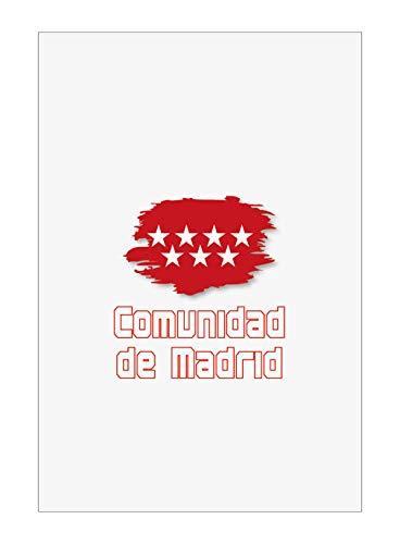 Tipolitografia Ghisleri Handtuch, Strandtuch, Handtuch Madrid Flagge 59