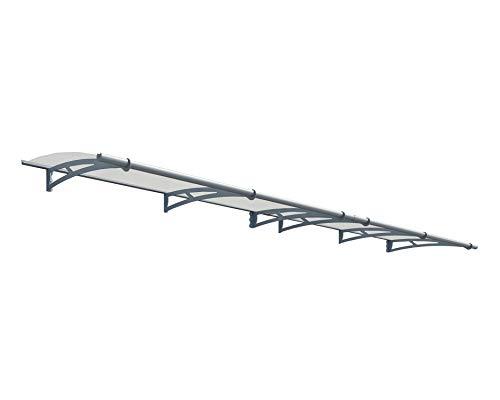 Preisvergleich Produktbild Palram Vordach,  Regenschutz,  Überdachung Aquila 4100 klar / / 410x92 cm (BxT) / / Pultvordach und Türüberdachung