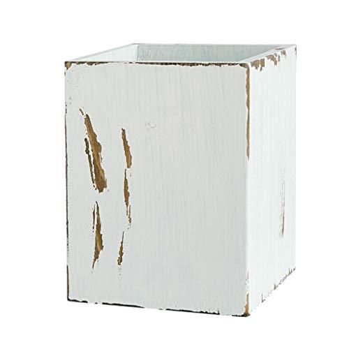 Nobranded Caja de Almacenamiento de de Madera Caja de Flores con Cepillo de Lápiz - B - a, Individual