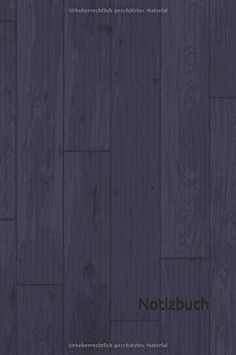 Notizbuch: Holz Notizbuch | 6x9 Zoll DIN A5 | 120 Seiten Punktraster | Parkettboden Notizheft | Holzmuster Tagebuch | Fußboden Notebook