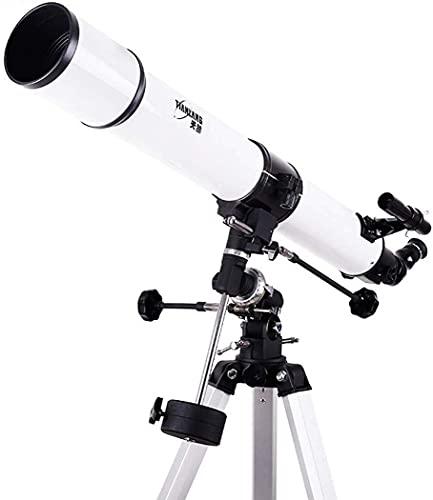 Sport im Freien Refraktor Praktisches Teleskop-Teleskop mit Stativfinder-Geltungsbereich, tragbares praktisches Teleskop-Teleskop für Kinder Astronomie Anfänger, bis zu 500-fach, fokuslanges 1000mm pr