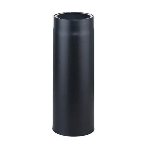 Möck Ofenrohr, doppelwandig gedämmt, System Primus, 150/250 mm Schwarz