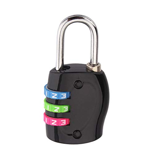 Cable Lock TSA Approvato Blocco Bagagli Viaggio Blocco Heavy Duty Combinazione Per Valigia Viaggi E Zaino