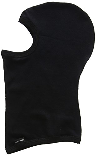 SPAIO Simple Balaklava Unisexe, Noir, XL/XXL