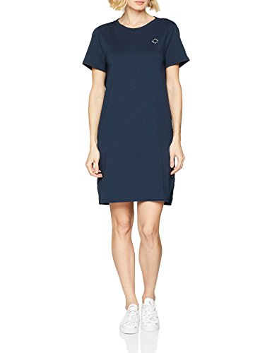 Marc O´Polo Denim Damen 844218159225 Kleid, Blau (Lunar Blue 879), X-Large