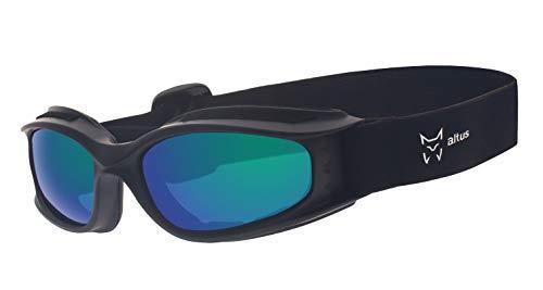 ALTUS Herren 50600in Sonnenbrille–Schwarz, Einheitsgröße