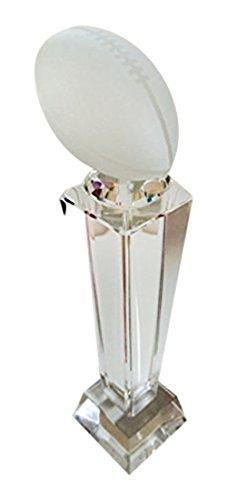 Crystal Perpetual Fantasy Football Trophy