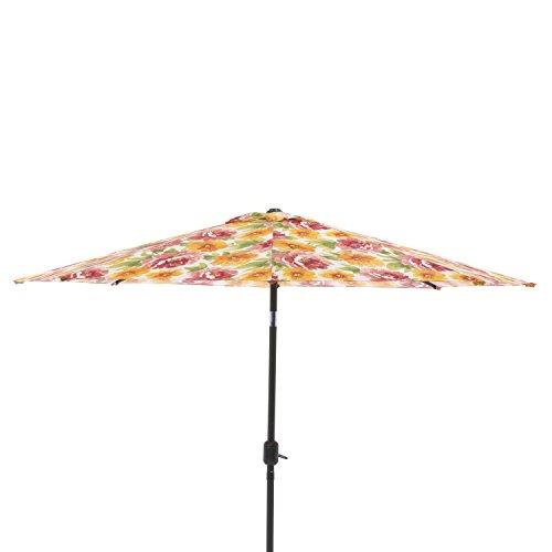 Pillow Perfect Primro Orange 9-foot Patio Market Umbrella