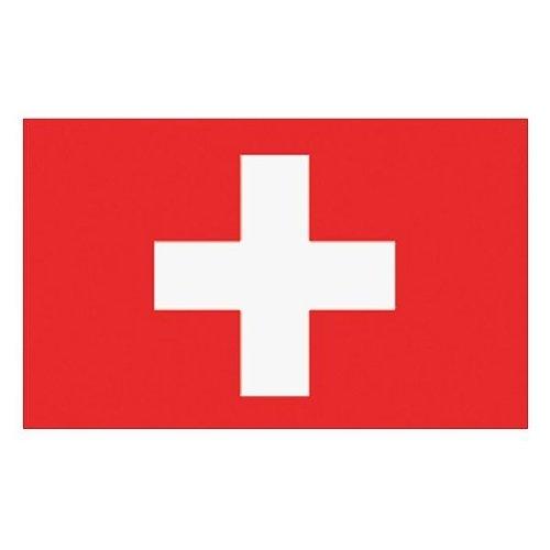 Flaggenking Schweiz Flagge/Fahne, weiß, 150 x 90 x 1 cm, 16896